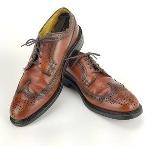 Vintage Dexter Leather Full Brogue Wingtip 9E